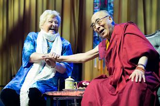Photo: Dalai Lama visiting The Netherlands. - Photo: Jurjen Donkers