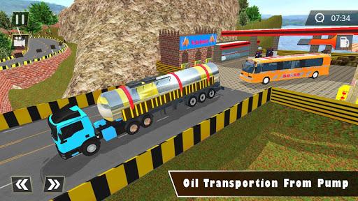 Liquid  Oil  Tanker  Transport Cargo Drive  Game cheat screenshots 2