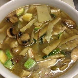 Weight Watchers Beef & Bamboo Shoot Soup