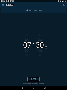 Good Morning Alarm Clock Screenshot