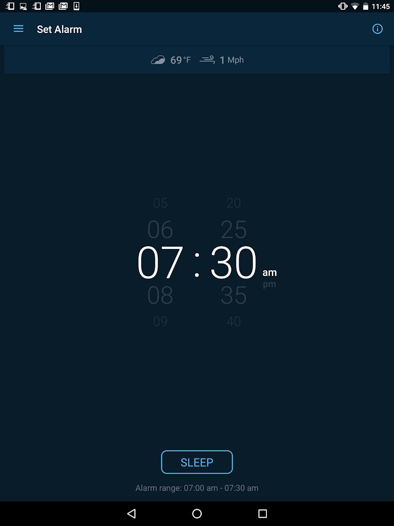 Good Morning Alarm Clock Screenshot 13