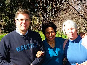 Photo: Kevin, Susheel and Wendy, Mahagony Creek, WA