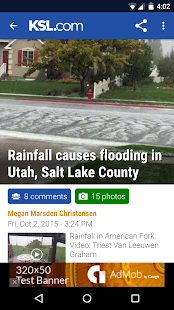 KSL News- screenshot thumbnail