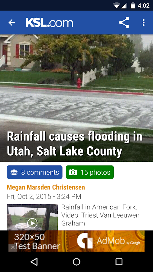 KSL News- screenshot