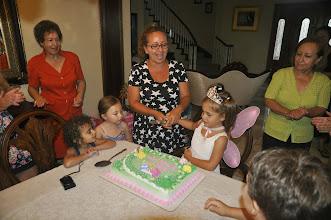 Photo: Cutting the cake