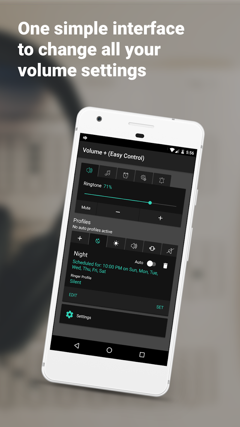Volume + (Easy Control) Screenshot 1