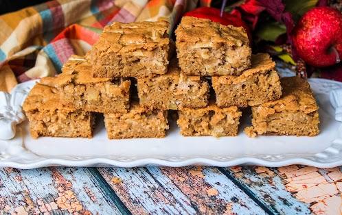 Grandma's Secret Apple Brownies