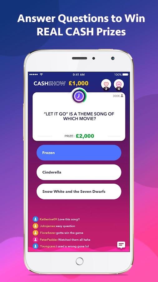 Win Cash Apps