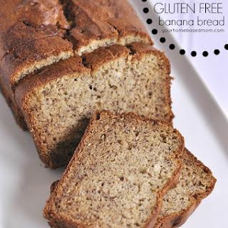 The Best Gluten Free Banana Bread.