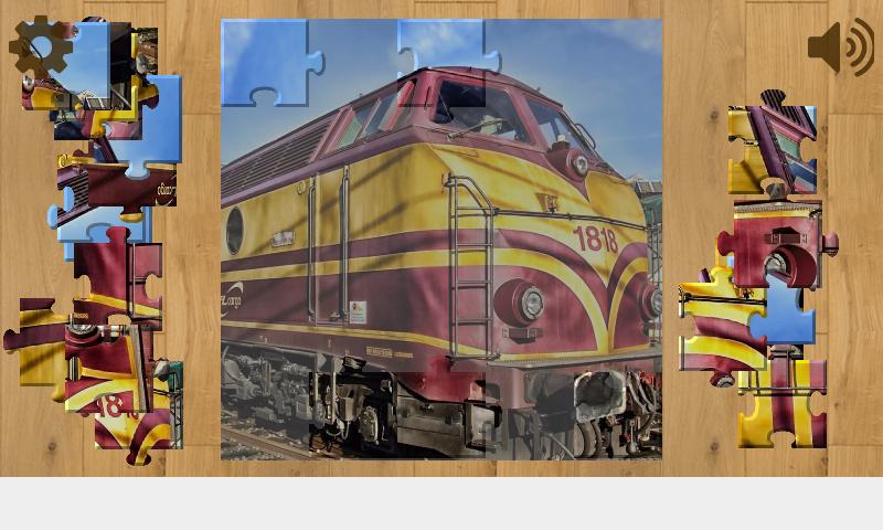 Скриншот Поезда Пазлы