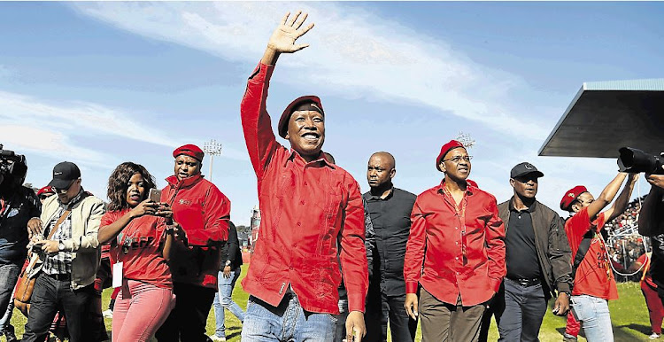 EFF leader Julius Malema seems to be part of a global phenomenon of lies and hypocrisy in politics.