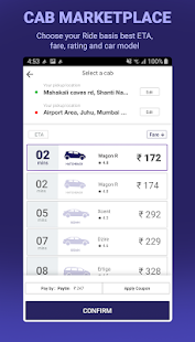 Meru Cabs- Local, Rental, Outstation, Airport Taxi Screenshot