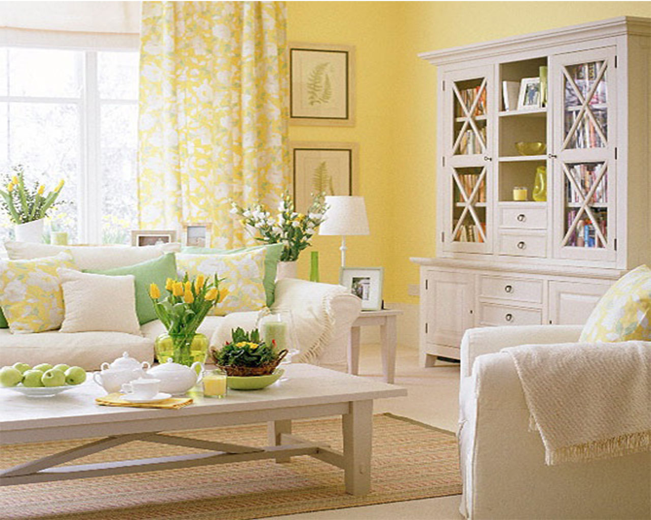 5 Decorating Ideas for a Spring Inspired Apartment Tara