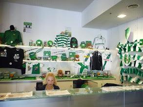Photo: A dins de l'estadi de futbol de Gdansk, seu del Lechia.