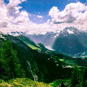 Berchesgaden Classic Alps! by Ethan Fox Miles - Landscapes Mountains & Hills