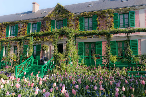No trip to Normandy would be complete without a visit to Monet's house in Giverny, France.