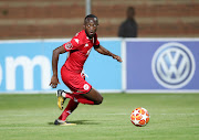 Striker Peter Shalulile has set himself a target of 15 goals and so far he is well on track to achieve his objectives.