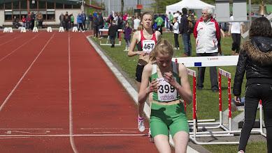 Photo: Corinde van Es(PAC) wint, Lisa een goede tweede. En wie zit er op honderd meter achterstand... 'remember Rotterdam'