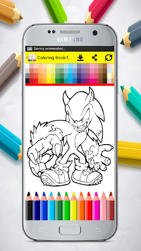 Coloring Book for Sonic 1.0 screenshots 4