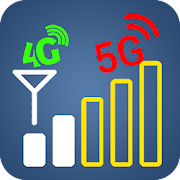 Chart signals & Network speed test 3g 4g 5g Wi-Fi