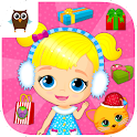 Lily & Kitty Baby Christmas icon