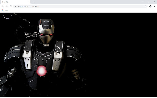 War Machine New Tab & Wallpapers Collection