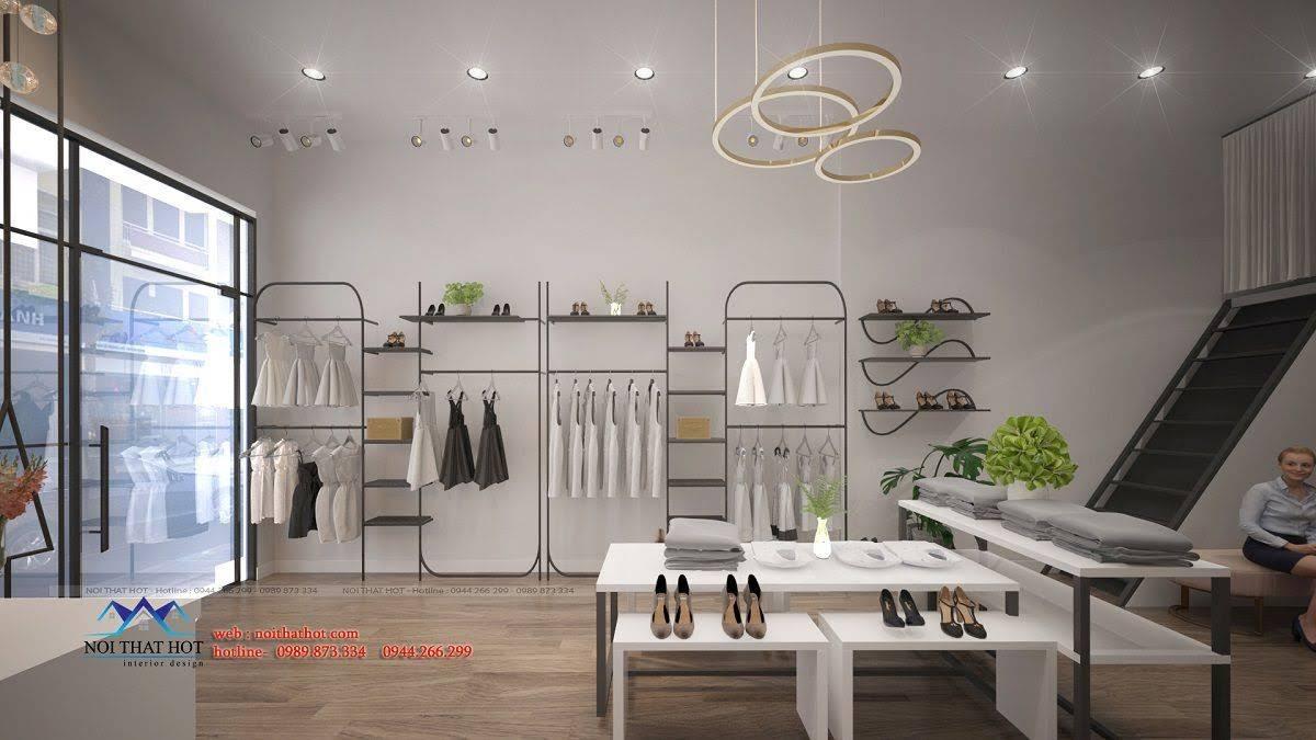 thiết kế shop thời trang hoài đức 8