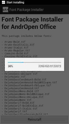 Font Pack 3.0.0 screenshots 2