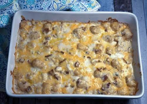 """Bacon Tater Bake """"This is a very delicious side dish and I..."""