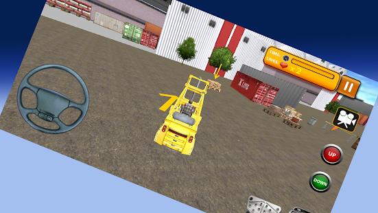 3D Forklift Simulator - náhled
