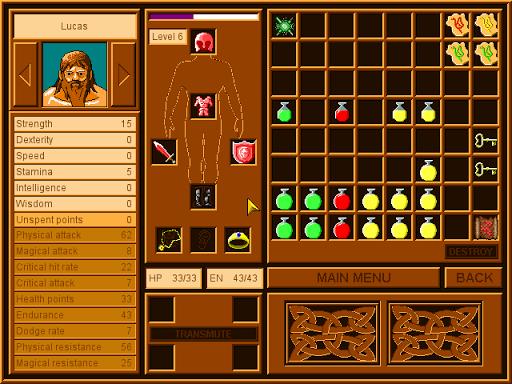 Dungeon Heroes 1.0.26 screenshots 3