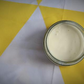 Fermented Probiotic Mayo (paleo. vegetarian)
