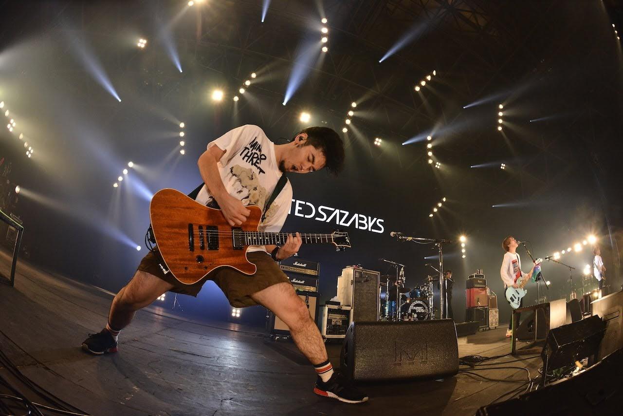 【迷迷現場】COUNTDOWN JAPAN 18/19  04 Limited Sazabys 爆棚 領全場練習跨年倒數