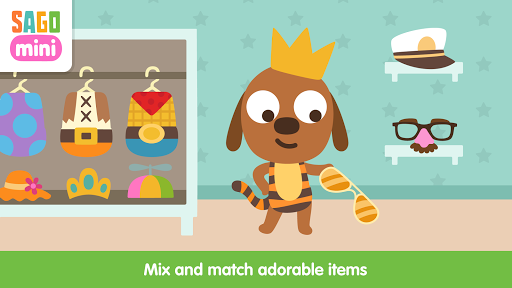 Sago Mini Babies Dress Up app (apk) free download for Android/PC/Windows screenshot