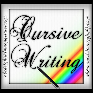 Cursive Writing Wizard Letters