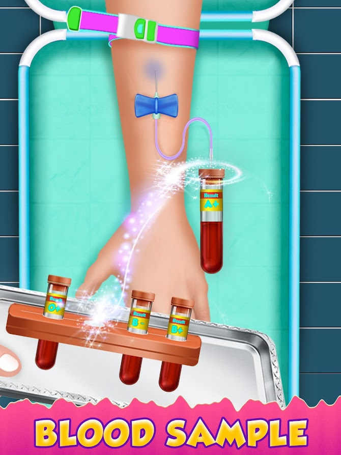 Blood Test Injection Simulator Doctor Android 12