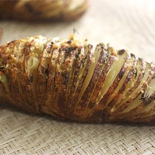 Hasselback Potatoes.