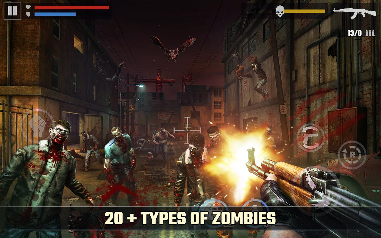 Screenshots of DEAD TARGET: Zombie for iPhone