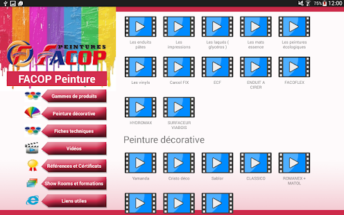Facop peintures applications android sur google play for Comment appliquer de la peinture