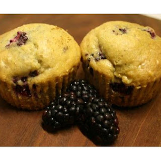 Blackberry Sage Muffins