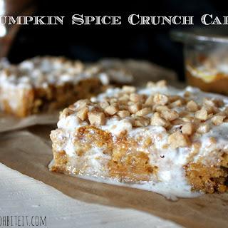 ~Pumpkin Spice Crunch Cake!