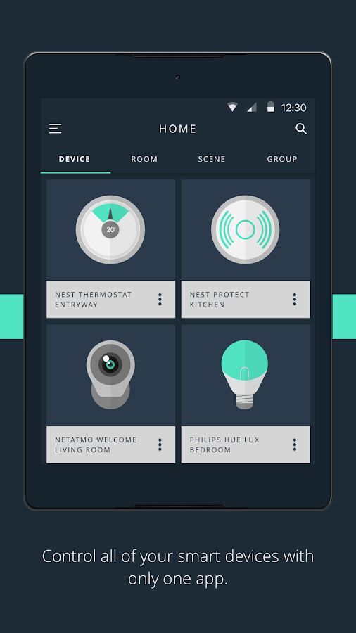 gideon smart home screenshot. beautiful ideas. Home Design Ideas