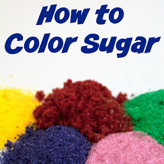 How To Make Colored Sugar.