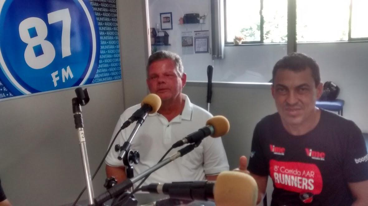 Benedito Leite Ribeiro Neto e Daniel Silva
