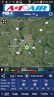 Screenshot of FOX 4 KDFW WAPP