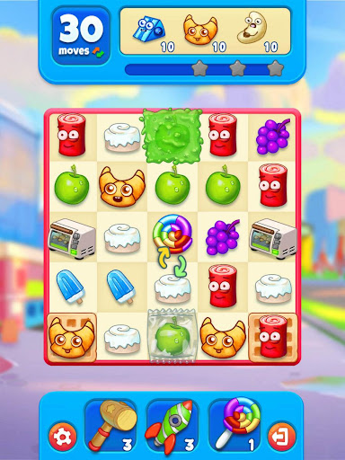 Sugar Heroes - World match 3 game!  screenshots 10