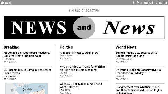 News and News - náhled