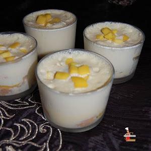 Tiramisu with Mango and Coconut