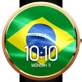Animated Brazil Flag WatchFace