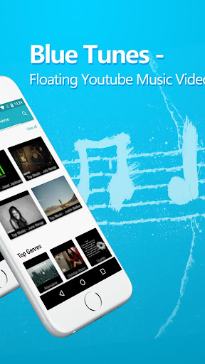 Blue Tunes - Floating Youtube Music Video Player Apk apps 2